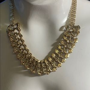 NWT  Erica Lyons reversible  statement necklace